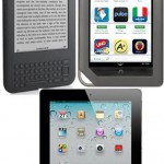 Kindle, Nook, iPad