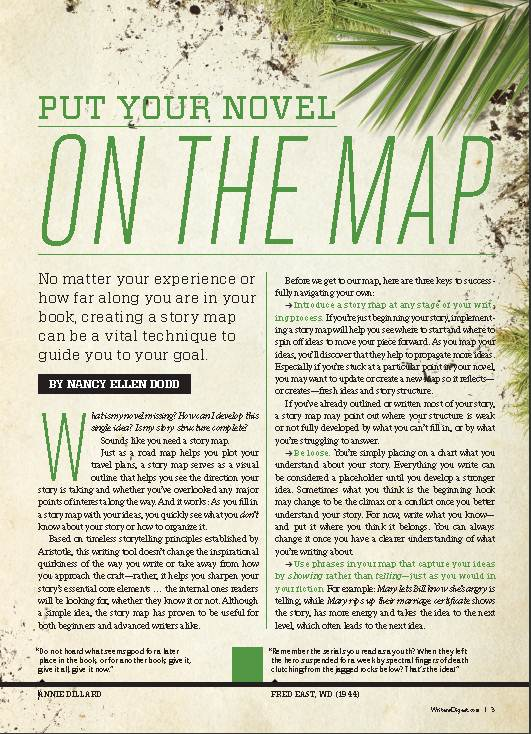 Article in Writers Digest